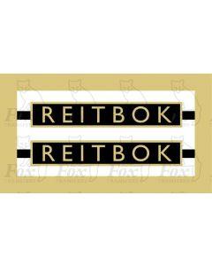 1021  REITBOK