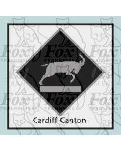 Cardiff Canton - STICKER