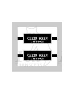08844 CHRIS WREN 1955-2002