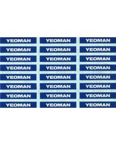 Yeoman PGA Hopper logos (later)