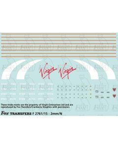 Virgin Class 57 Thunderbird Livery