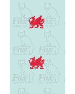 Provincial Welsh Dragon Motifs