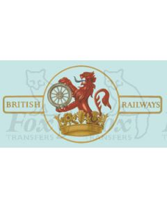 BR later Lion & Wheel (Ferret & Dartboard) - Large
