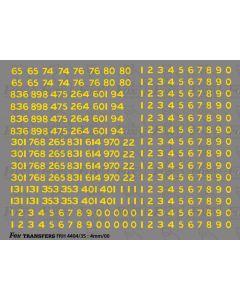SR Railway Coaching Stock Set Numberset
